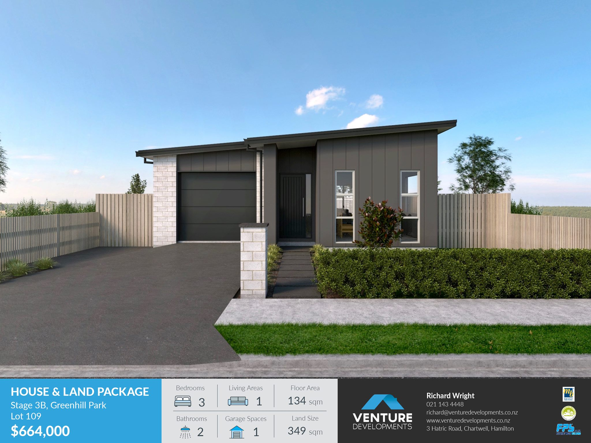 Lot 109 Greenhill Park – Stage 3