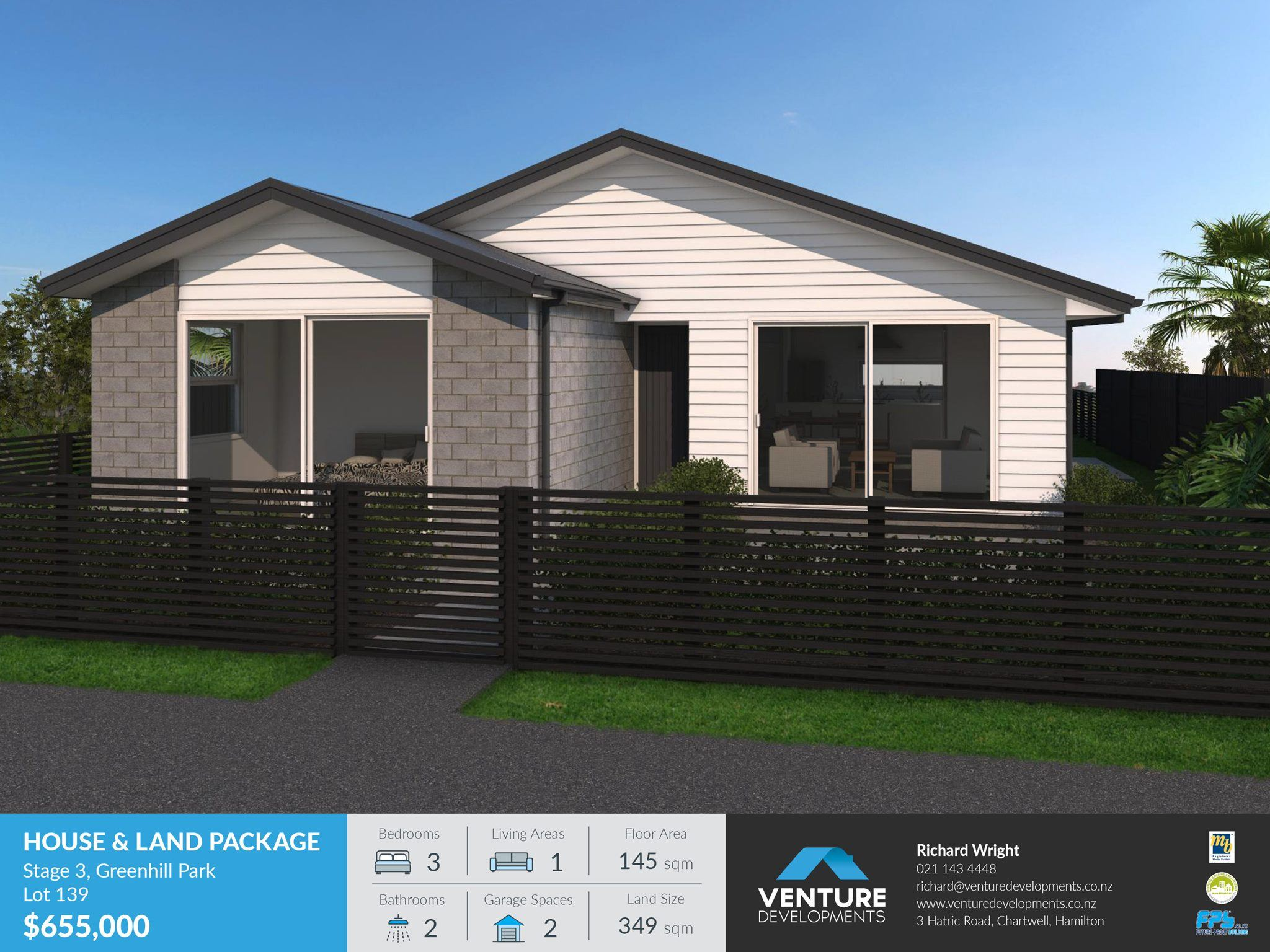 Lot 139 Greenhill Park – Stage 3